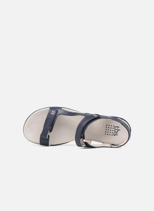 Sandales et nu-pieds TBS Raniah--F7M52 Bleu vue gauche