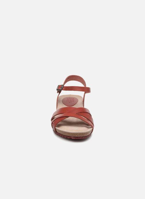 Sandals TBS Sabinne-C7416 Burgundy model view