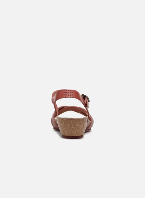 Sandals TBS Sabinne-C7416 Burgundy view from the right
