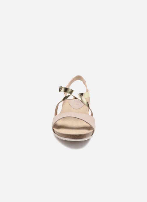 Sandali e scarpe aperte TBS Stefany-C7B83 Grigio modello indossato