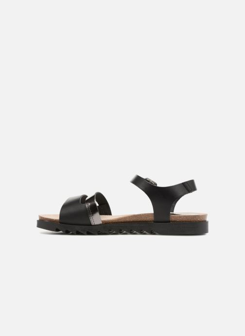 Sandals TBS Theresa-A7004 Black front view