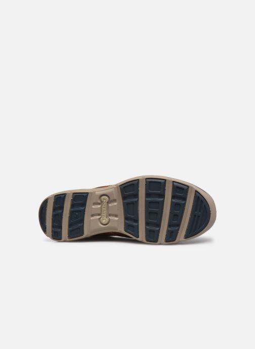 Chaussures à lacets Skechers Harper-Melden Marron vue haut