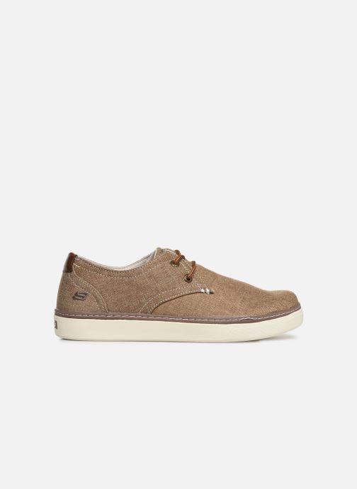 Sneakers Skechers Palen-Gadon Bruin achterkant