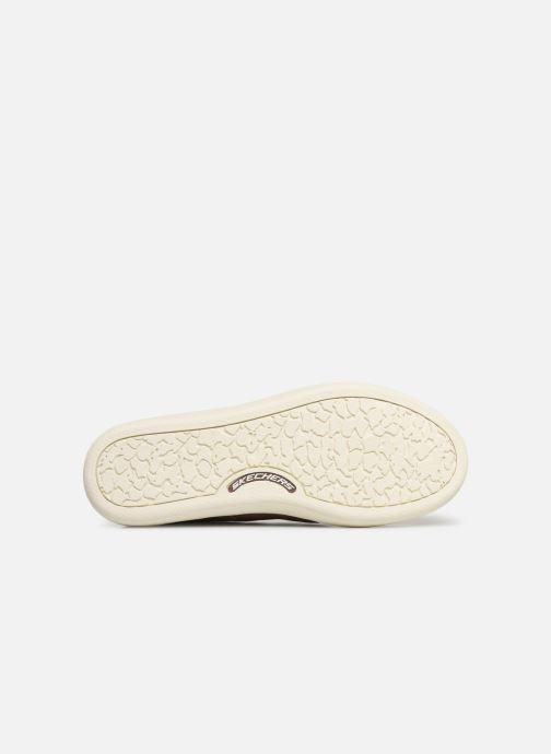 Sneakers Skechers Palen-Gadon Marrone immagine dall'alto