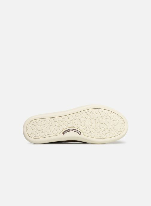 Baskets Skechers Palen-Gadon Marron vue haut
