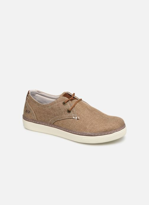 Sneakers Skechers Palen-Gadon Bruin detail