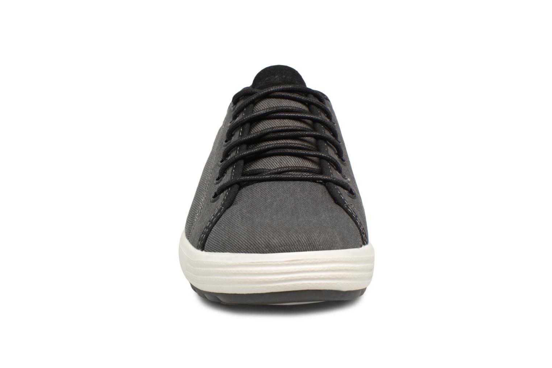 Deportivas Skechers Porter-Meteno Negro vista del modelo