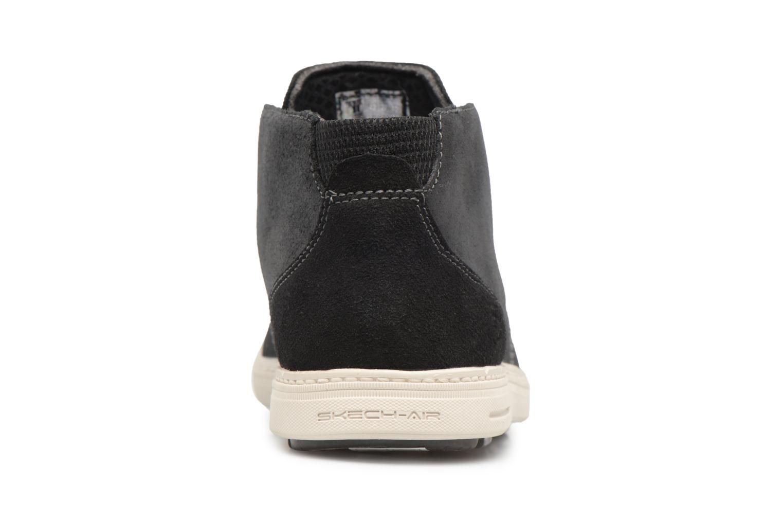 Bottines et boots Skechers Droven-Evado Noir vue droite