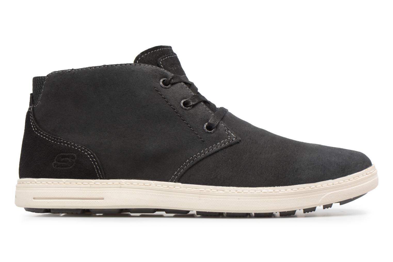 Bottines et boots Skechers Droven-Evado Noir vue derrière