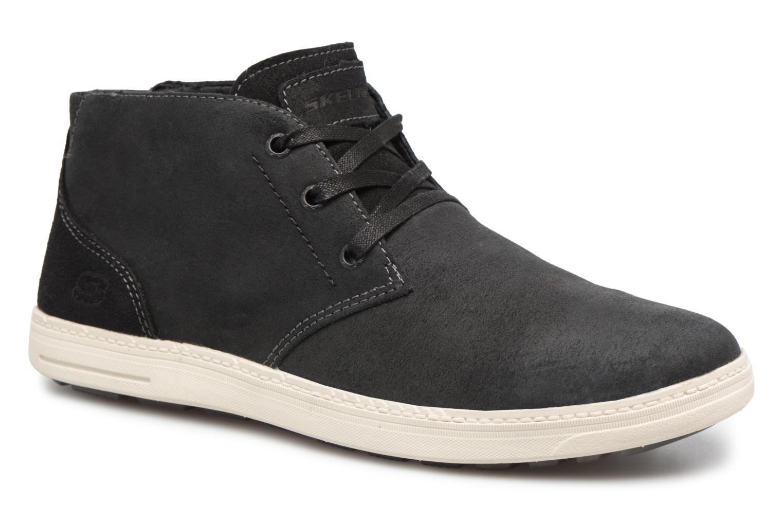 Bottines et boots Skechers Droven-Evado Noir vue détail/paire