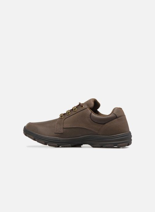 Sneaker Skechers Garton-Briar braun ansicht von vorne