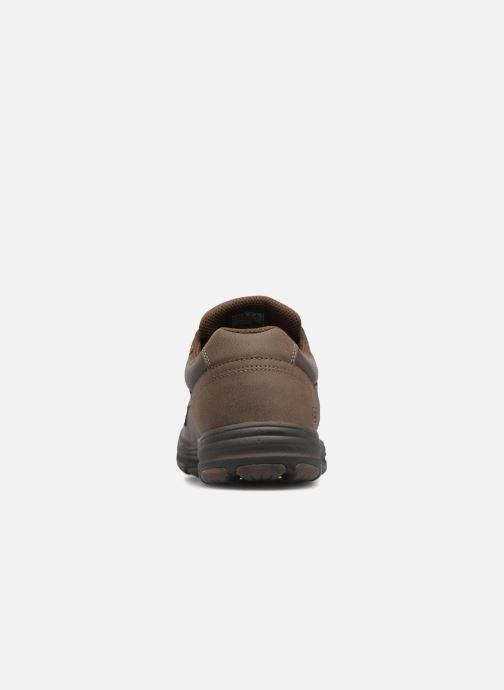 Sneaker Skechers Garton-Briar braun ansicht von rechts