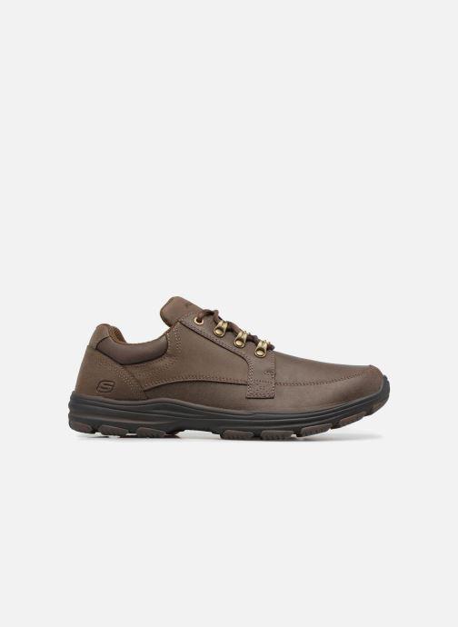 Sneaker Skechers Garton-Briar braun ansicht von hinten