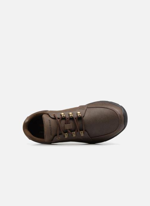Sneaker Skechers Garton-Briar braun ansicht von links