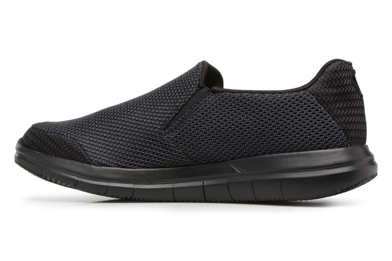 Sneakers Skechers Go Flex 2-Completion Zwart voorkant