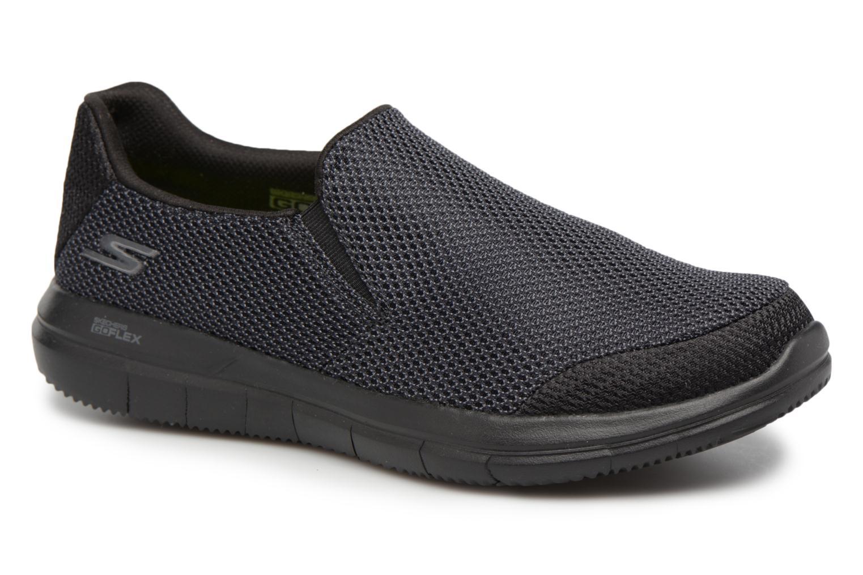 Sneakers Skechers Go Flex 2-Completion Zwart detail