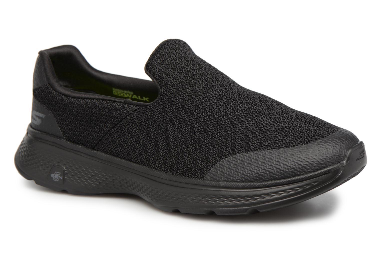 Sneakers Skechers Go Walk  4-Expert Svart detaljerad bild på paret