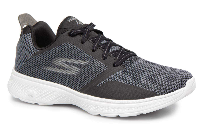 Sneakers Skechers Go Walk 4-Elect Sort detaljeret billede af skoene