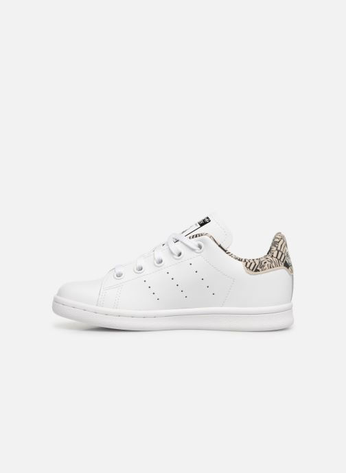 Deportivas adidas originals Stan Smith C Blanco vista de frente