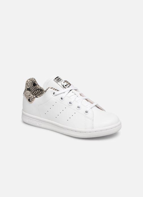 Deportivas Adidas Originals Stan Smith C Blanco vista de detalle / par