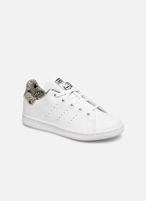 pretty nice 392bf cc101 Baskets adidas originals Stan Smith C Blanc vue détail paire