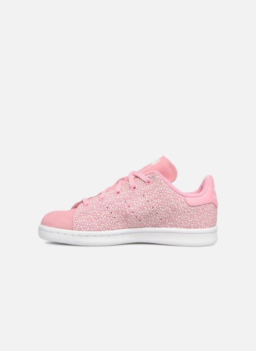 Baskets adidas originals Stan Smith C Rose vue face