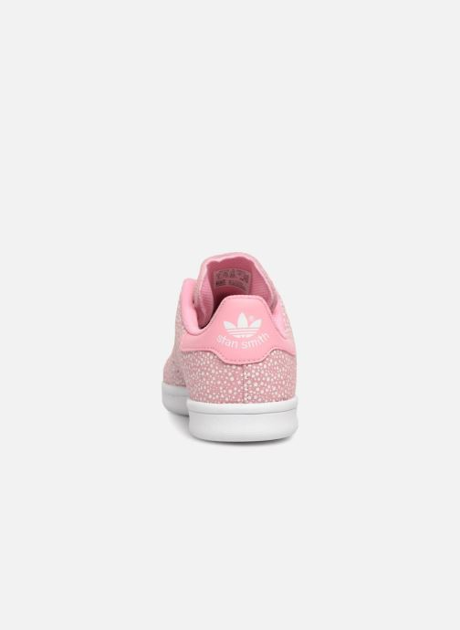 Baskets adidas originals Stan Smith C Rose vue droite