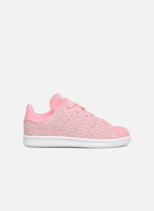 Baskets adidas originals Stan Smith C Rose vue derrière