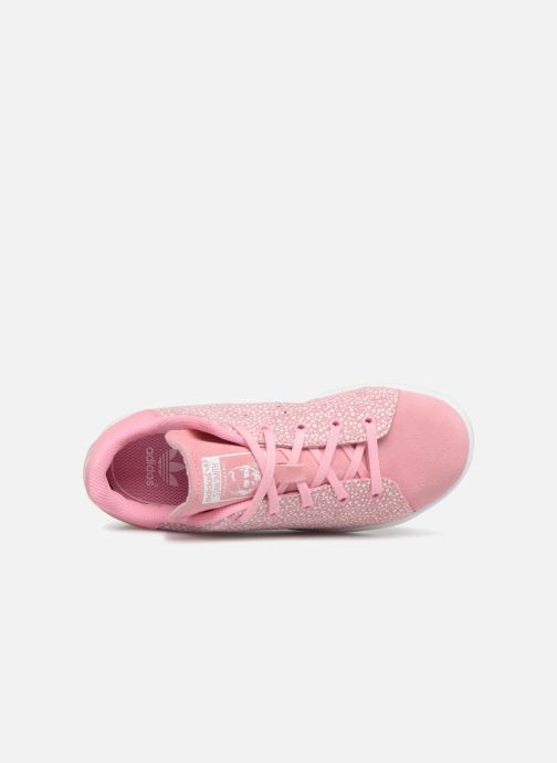 Baskets adidas originals Stan Smith C Rose vue gauche