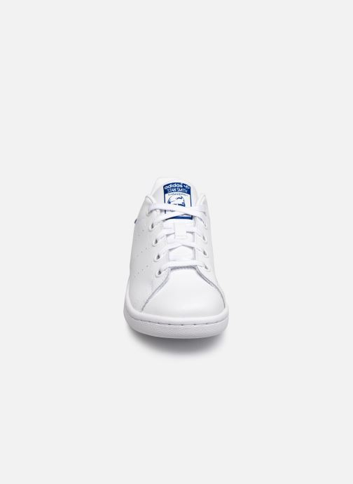 Deportivas adidas originals Stan Smith C Blanco vista del modelo