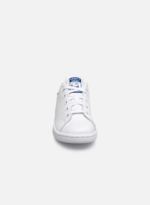 Baskets adidas originals Stan Smith C Blanc vue portées chaussures