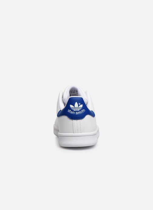 Deportivas adidas originals Stan Smith C Blanco vista lateral derecha