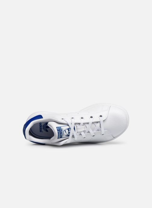 Deportivas adidas originals Stan Smith C Blanco vista lateral izquierda