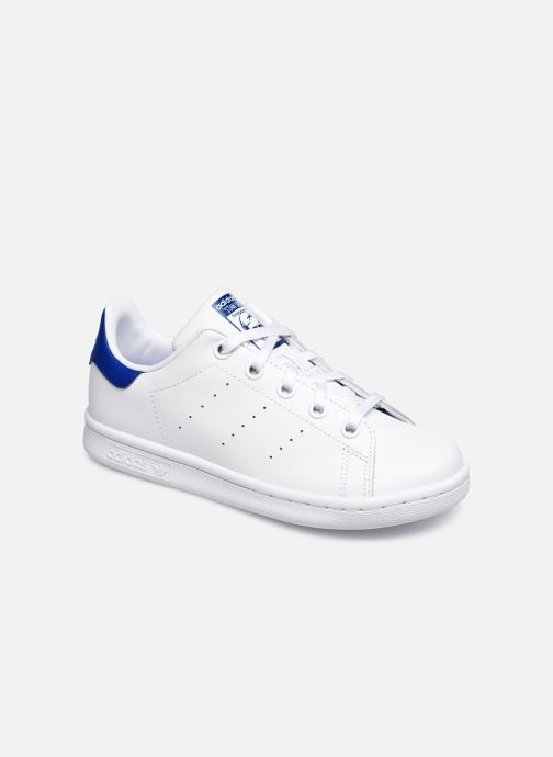 Deportivas adidas originals Stan Smith C Blanco vista de detalle / par