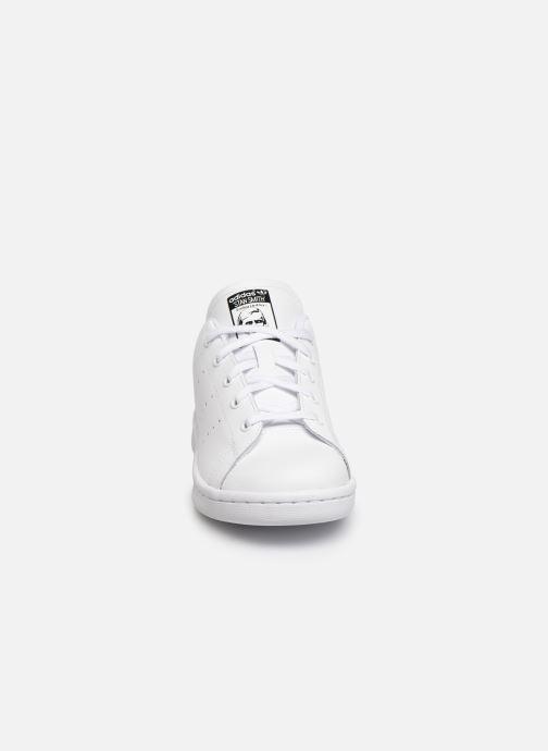 Deportivas adidas originals Stan Smith C Blanco vista del modelo