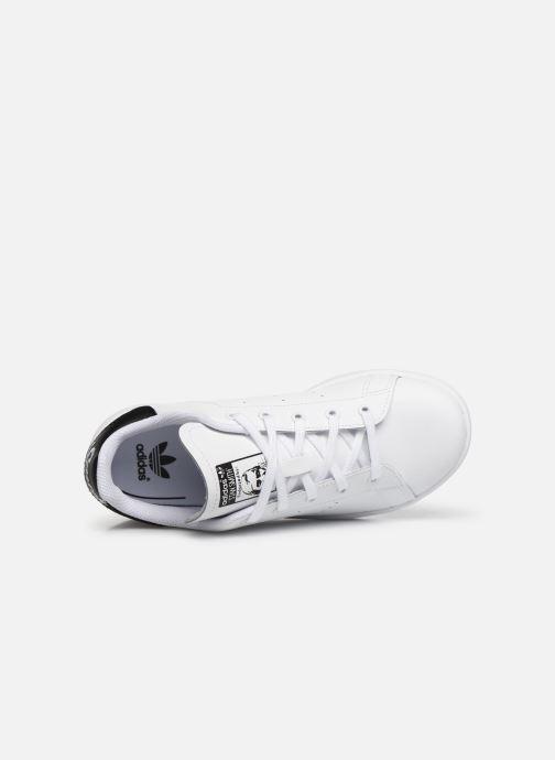 Deportivas adidas originals Stan Smith C Blanco vista lateral izquierda
