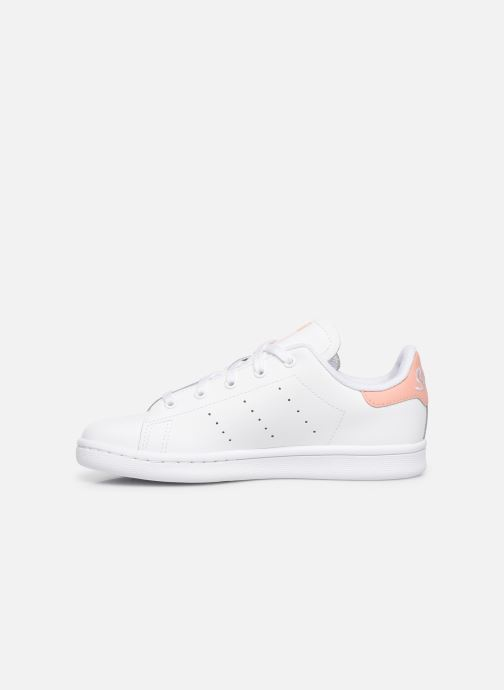 Sneakers adidas originals Stan Smith C Hvid se forfra