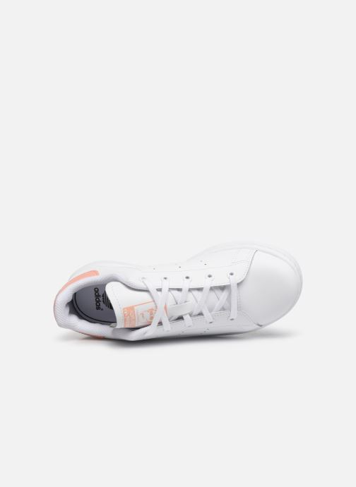 Trainers adidas originals Stan Smith C White view from the left