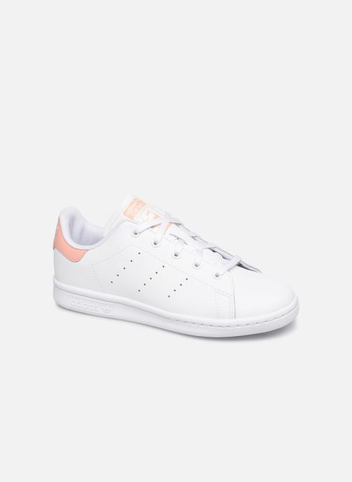 Baskets adidas originals Stan Smith C Blanc vue détail/paire