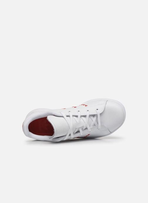 Baskets adidas originals Stan Smith C Blanc vue gauche