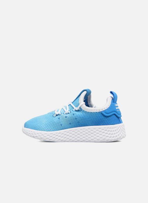 Deportivas adidas originals Pharrell Williams Tennis Hu I Azul vista de frente