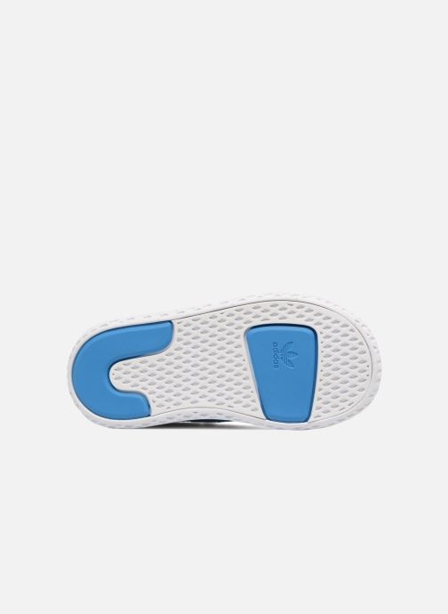 Deportivas adidas originals Pharrell Williams Tennis Hu I Azul vista de arriba