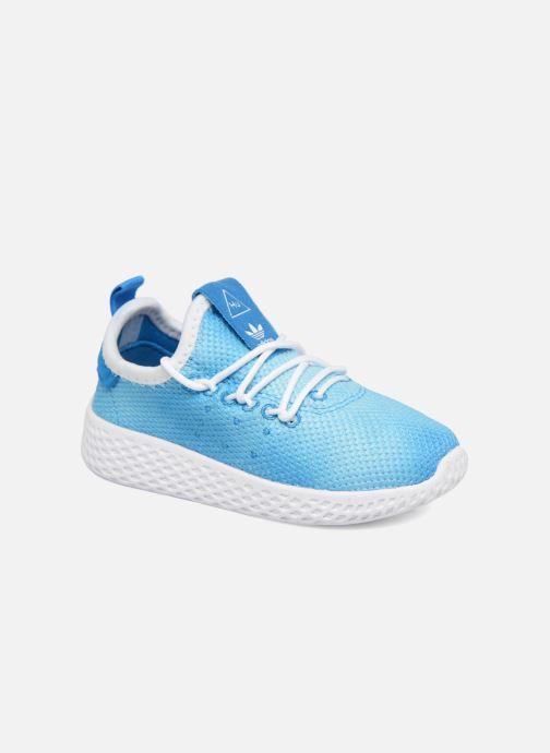 Deportivas adidas originals Pharrell Williams Tennis Hu I Azul vista de detalle / par