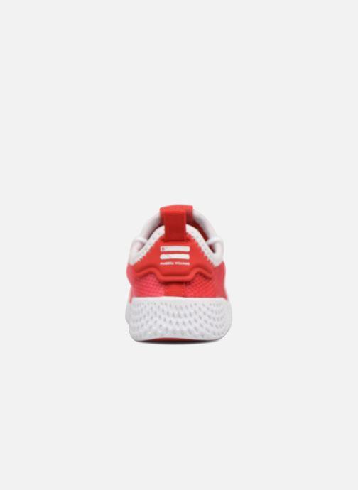 Deportivas adidas originals Pharrell Williams Tennis Hu I Naranja vista lateral derecha