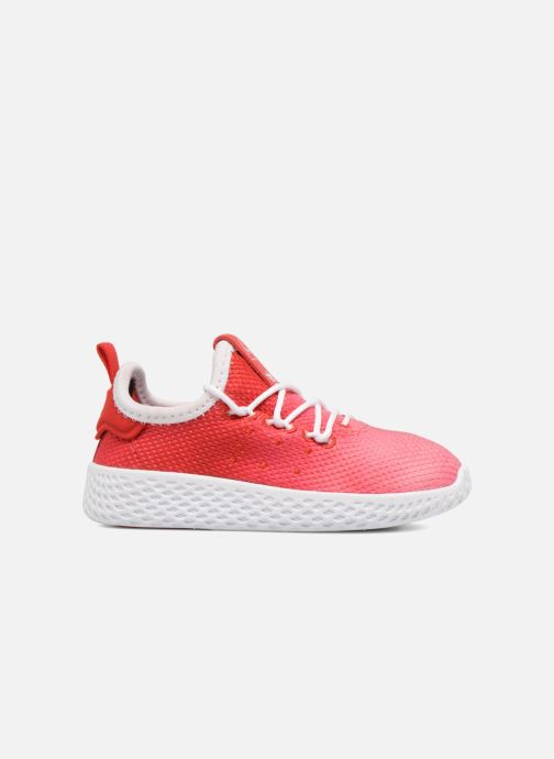 Baskets adidas originals Pharrell Williams Tennis Hu I Orange vue derrière
