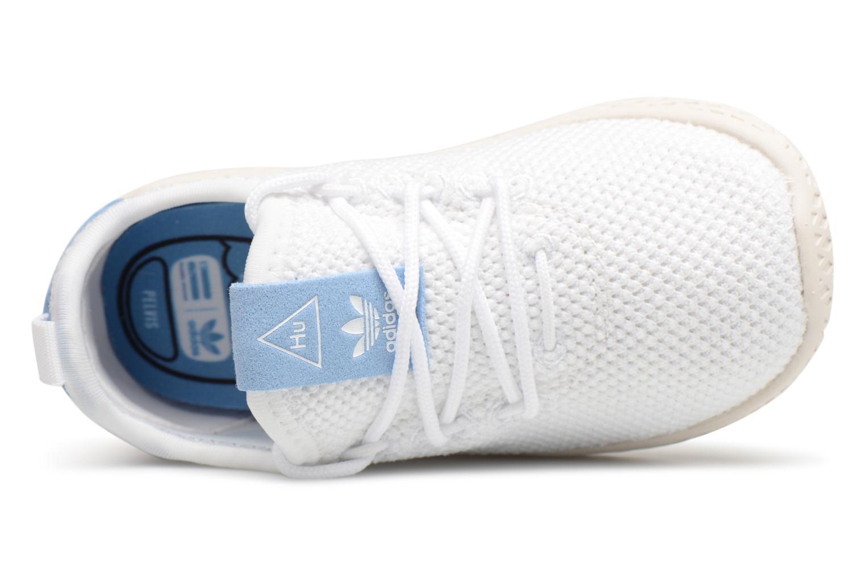 Baskets Adidas Originals Pharrell Williams Tennis Hu I Blanc vue gauche