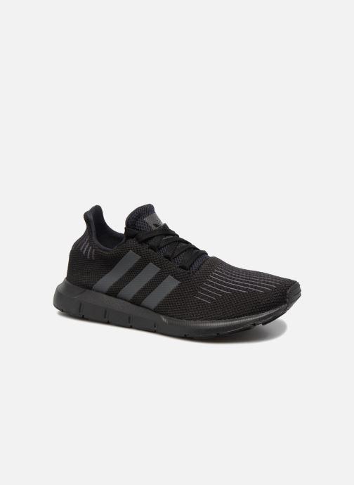 newest dddf3 8406d ... Chaussure enfant · adidas originals enfant  Swift Run J. Baskets adidas  originals Swift Run J Noir vue détail paire