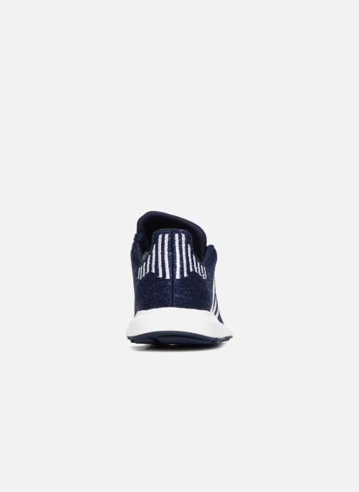 adidas originals Swift Run J (Bleu) Baskets chez Sarenza