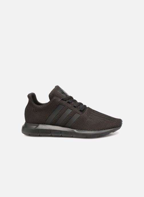Trainers adidas originals Swift Run J Black back view