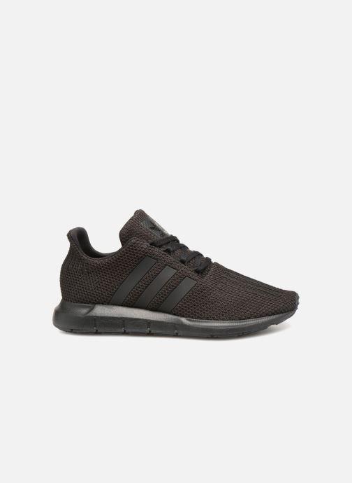 Sneaker adidas originals Swift Run J schwarz ansicht von hinten